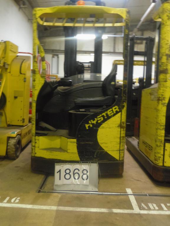 Chariot élévateur à mât rétractable HYSTER R1.4 location vente neuf ou occasion
