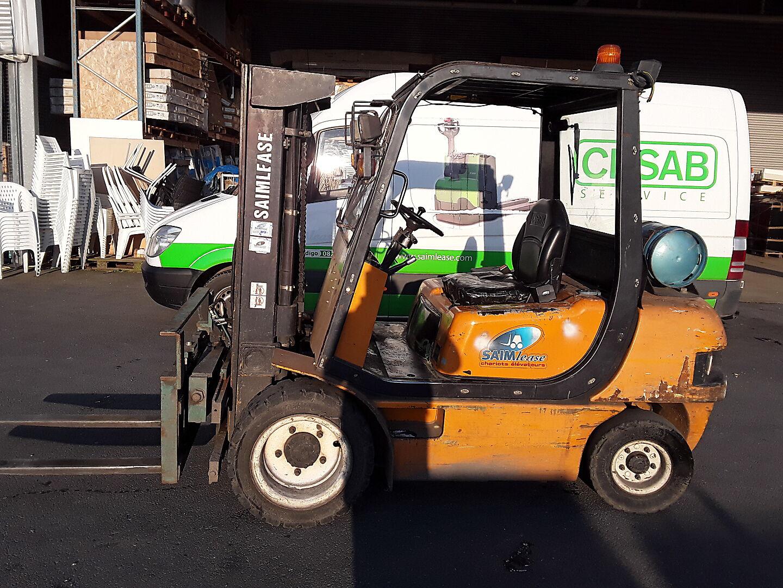 chariot élévateur à fourches CLARK CMP30L location vente neuf ou occasion