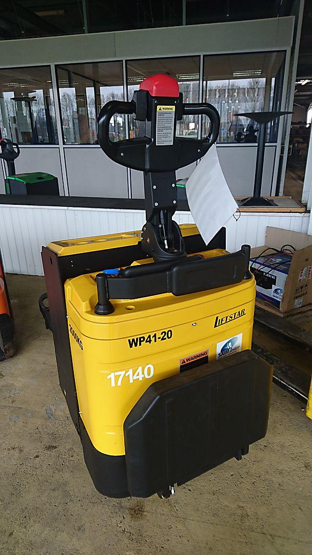 location vente occasion transpalette conducteur porté debout SAIMLEASE-LIFTSTAR WP41-20
