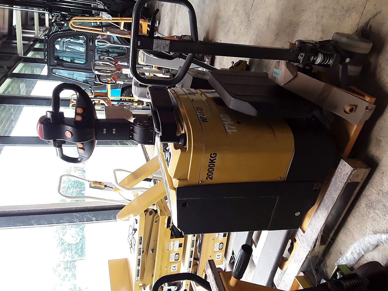 transpalette conducteur porté debout SAIMLEASE-LIFTSTAR WP41-20 location vente neuf ou occasion