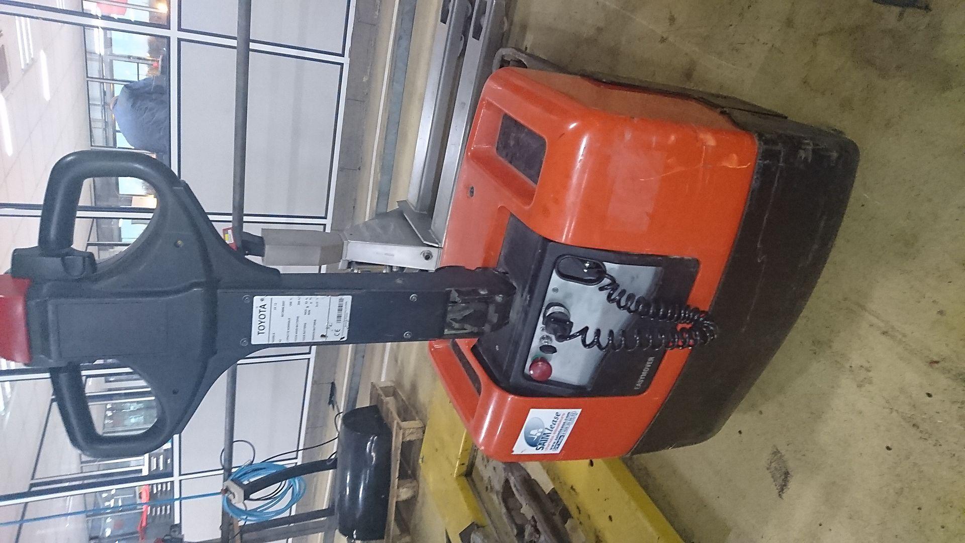 transpalette électrique BT PP13 location vente neuf ou occasion