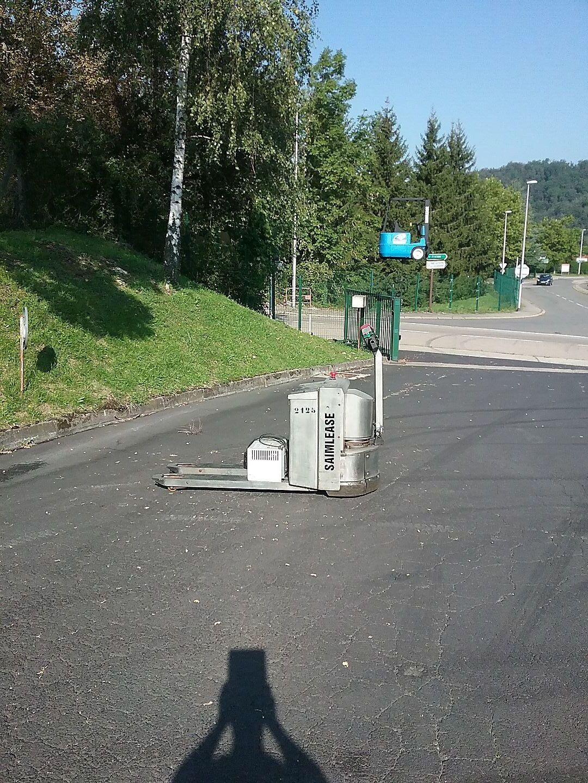 Transpalette electrique CLARK-OMG 320 KEA location vente neuf ou occasion