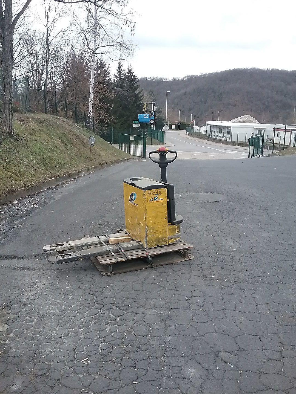 location vente occasion Transpalette electrique OM-PIMESPO TL18