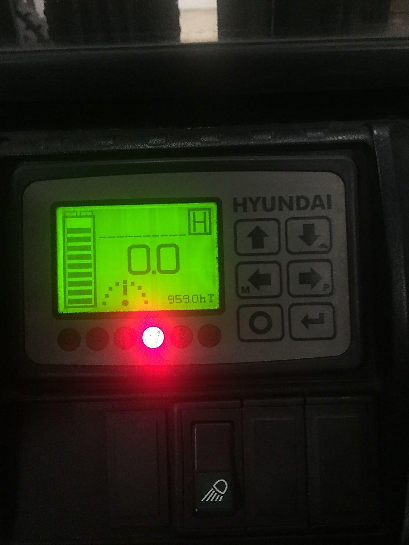 location vente occasion chariot élévateur à fourches HYUNDAI 45B-7